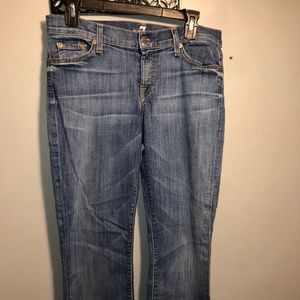 7 for All MANKIND cropped ladies jeans
